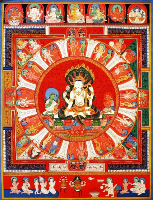 vishnu mandala creative commons